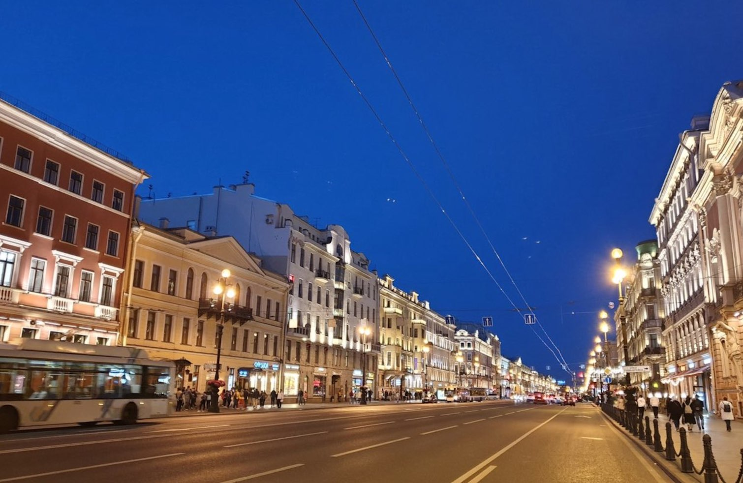 Nevsky Prospect Avenue in St Petersburg